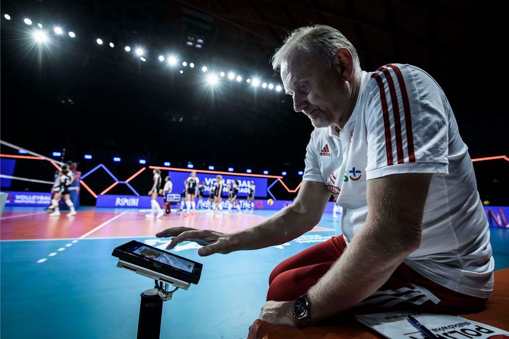 Liga Narodów: Chiny - Polska, siatkówka