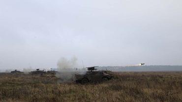 Odpalenie rakiety Malutka