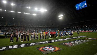 Lech Poznań - Belenenses 0:0. Niemal pusty Inea Stadion