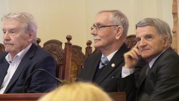Leonard Pietraszak, Janusz Kutta i Jerzy Derenda - laureaci medalu Jerzego Sulimy-Kamińskiego