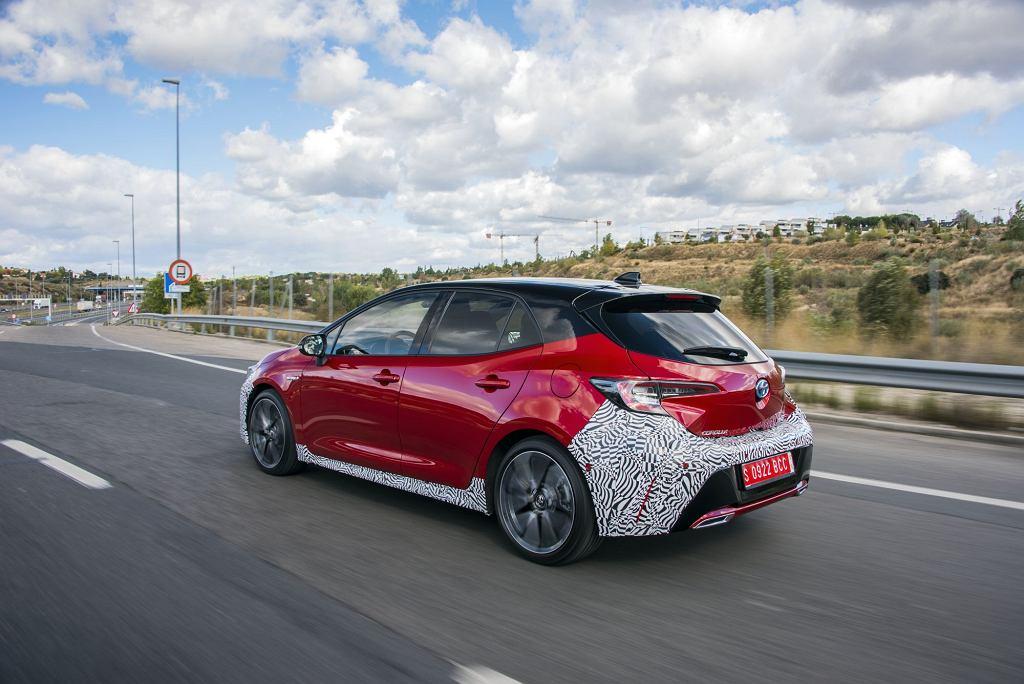 Nowa Toyota Corolla 2018
