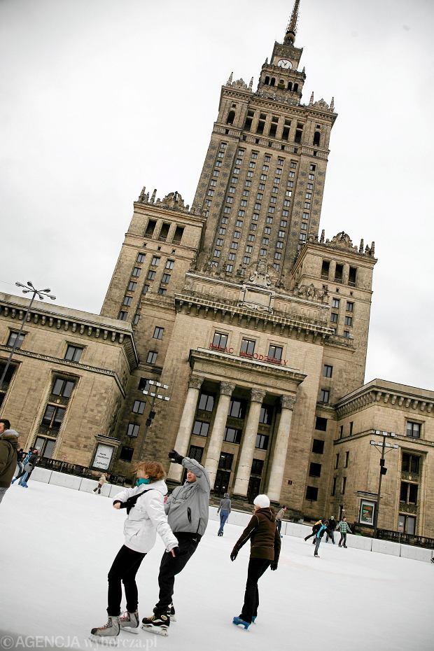 Lodowisko Pałac Kultury