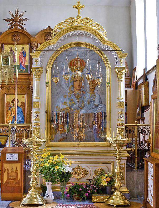 Wnętrze cerkwi w Supraślu / fot. Tomasz Fedor