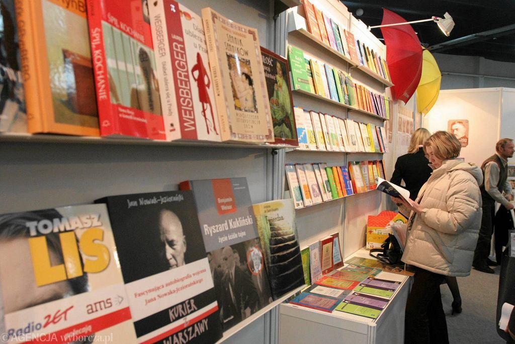 Stoisko WSiP na kieleckich targach książki