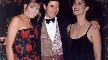 Cynthia Geary, Rob Morrow i Janine Turner na 45. gali rozdania Emmy