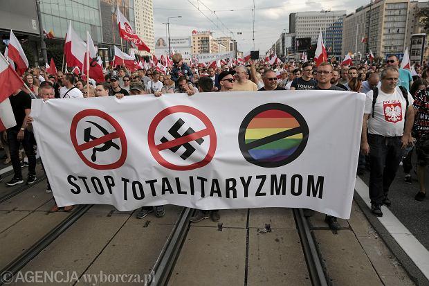 Obchody w Warszawie 75 . rocznicy wybuchu Powstania Warszawskiego