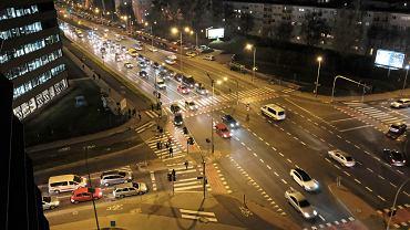 Poznań - skrzyżowanie ulic Bułgarskiej i Marcelińskiej