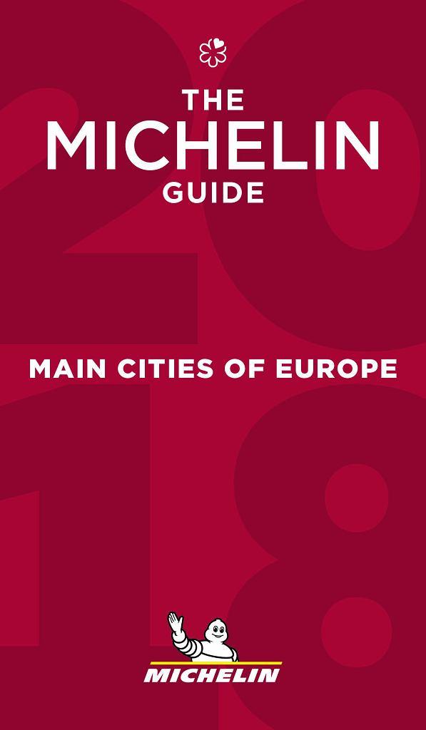 Michelin Main Cities of Europe 2018 - okładka przewodnika
