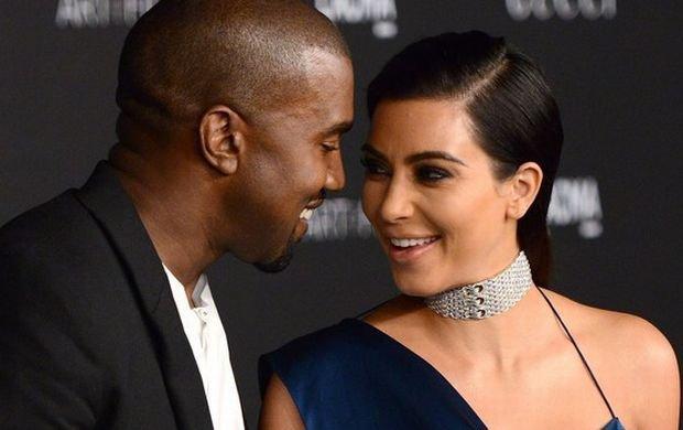 Kim Kardashian i Kanye West