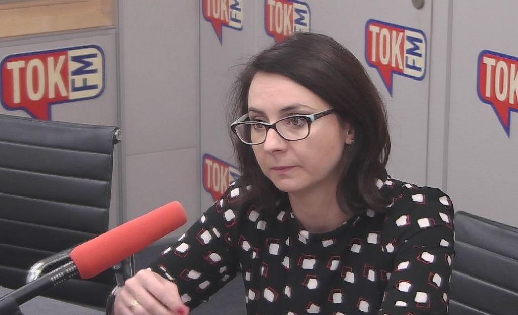 Kamila Gasiuk-Pihowicz w Poranku Radia TOK FM