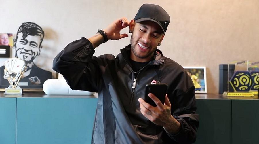Neymar w swoim programie na YouTube