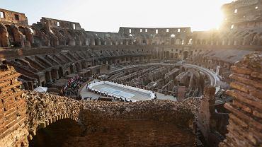 Włochy, Rzym. Koloseum