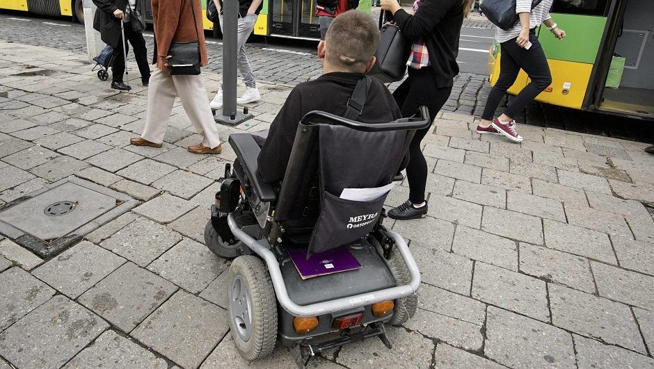 Niepełnosprawny (zdjęcie ilustracyjne)