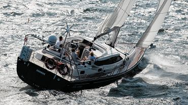 Łódź wyprodukowana w oleckiej stoczni Delphia Yachts