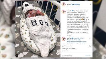 Pielęgniarka robiła na szydełku ubranka dla dzieci, które się urodziły za wcześnie.