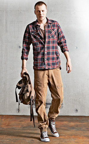Moda męska - trendy na jesień, moda męska, MUSZTARDA i beż musztardowy  - najbardziej pożądana barwa tego sezonu