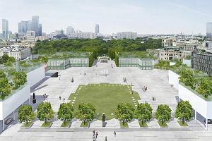 Projektant BUW-u ma pomysł na odbudowę Pałacu Saskiego. Nietypowy