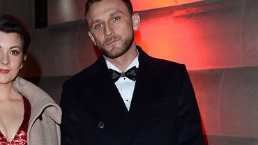 Kamil Nożyński z partnerką