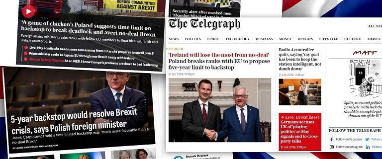 Polski pomysł na brexit rozgrzał brytyjskie media. ''Wyłamanie z szeregu państw UE''
