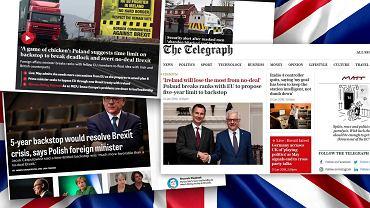 Brexit. Komentarze po propozycji ministra Czaputowicza