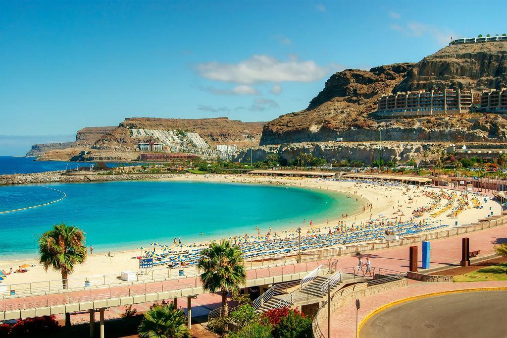 Plaża Amadores na Gran Canaria