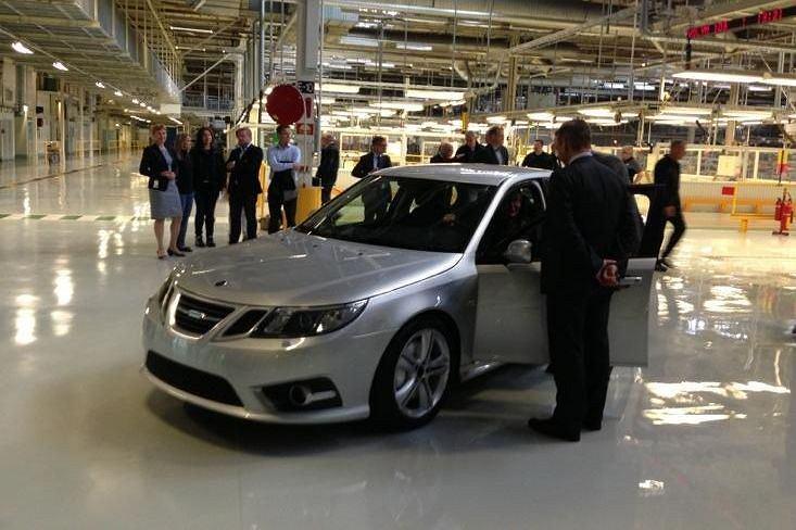 Z taśmy w Trollhattan zjechał pierwszy nowy Saab