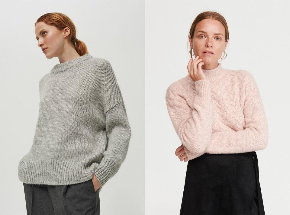 swetry z alpaki