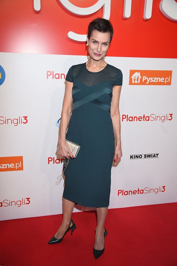 Danuta Stenka, premiera filmu Planeta Singli 3