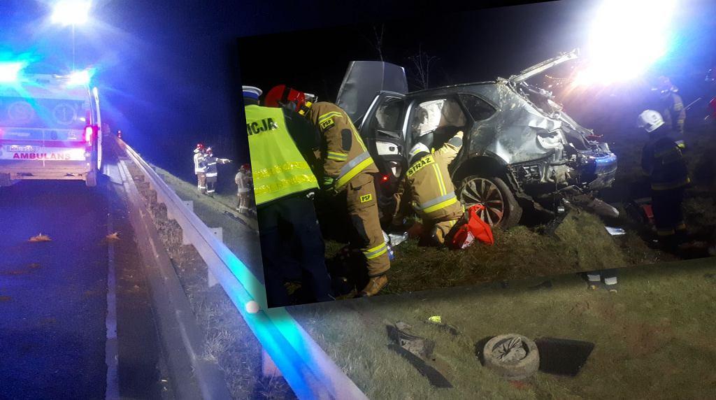Wypadek Bentley Bentayga