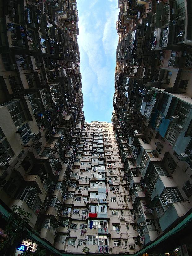 Blok w Hongongu