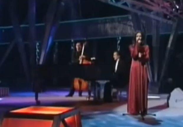 Kasia Kowalska na Eurowizji w 1996