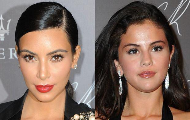 Kim Kardashian, Selena Gomez