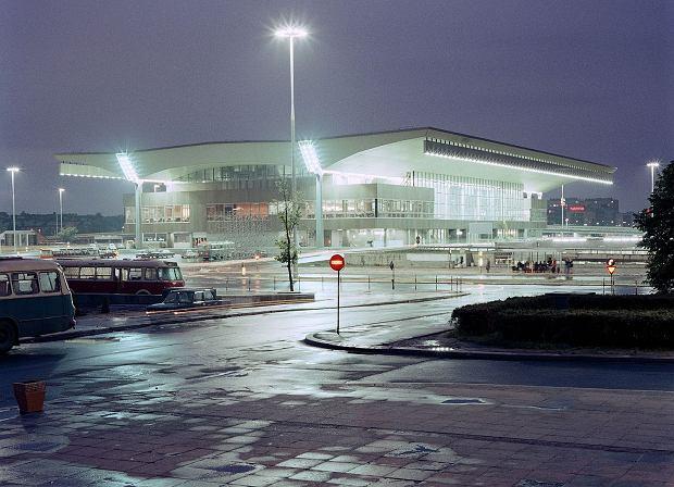 Dworzec Główny w 1975 roku