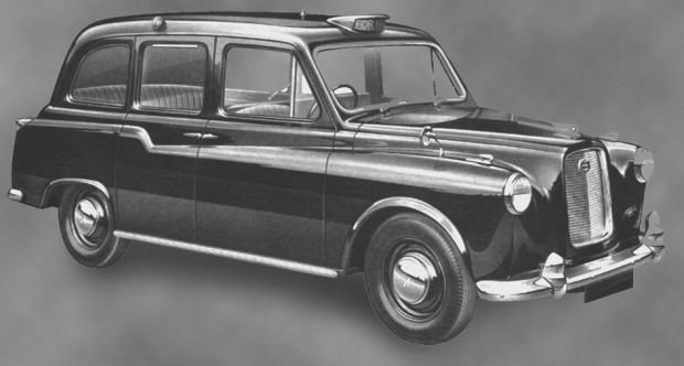 Austin FX3 - londyńska taksówka