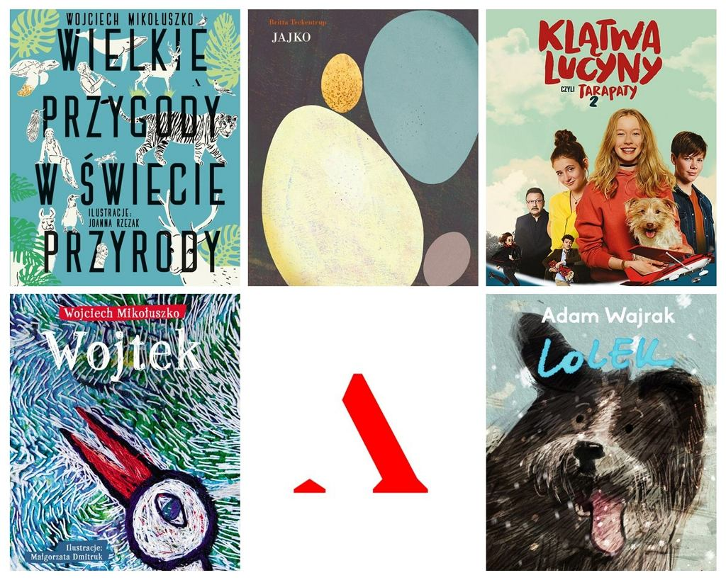 Top 5 książek dla dzieci Wydawnictwa Agora