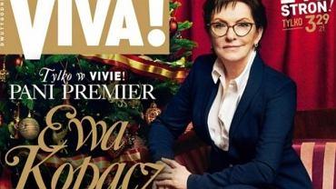 "Okładka ""Vivy!"" z Ewą Kopacz na okładce"