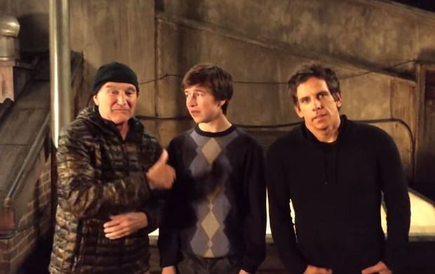 Robin Williams, Skyler Gisondo, Ben Stiller