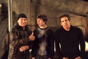Robin Williams, Skyler Gisondo, Ben Stiller