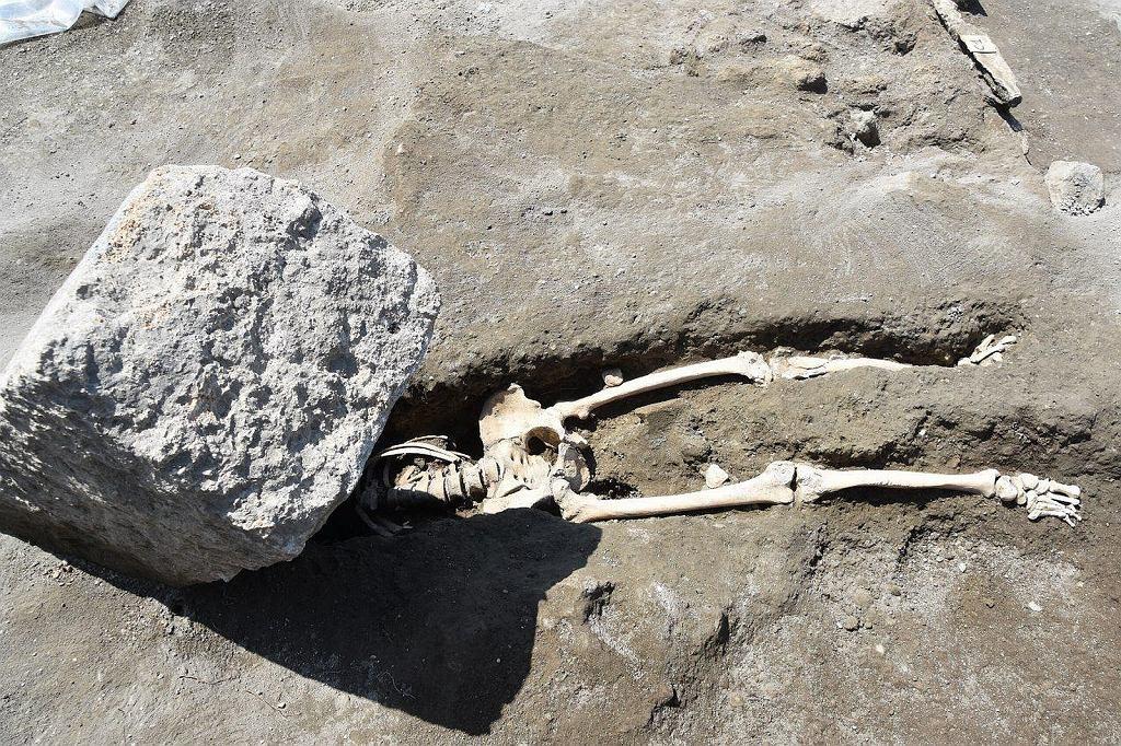 Straszny koniec mieszkańca starożytnych Pompejów