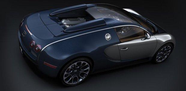 Bugatti Veyron Grand Sport Sang Bleu 2011
