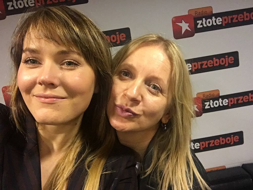 Marzena Rogalska i Magdalena Lamparska w 'Rogalska od kuchni'