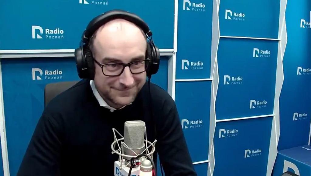 Karol Klimczak był gościem radia Poznań