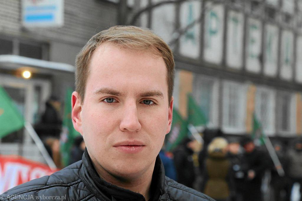 Poseł Adam Aduszkiewicz