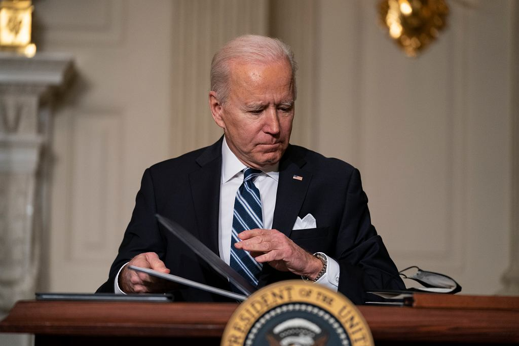 Prezydent Stanów Zjednoczonych Joe Biden