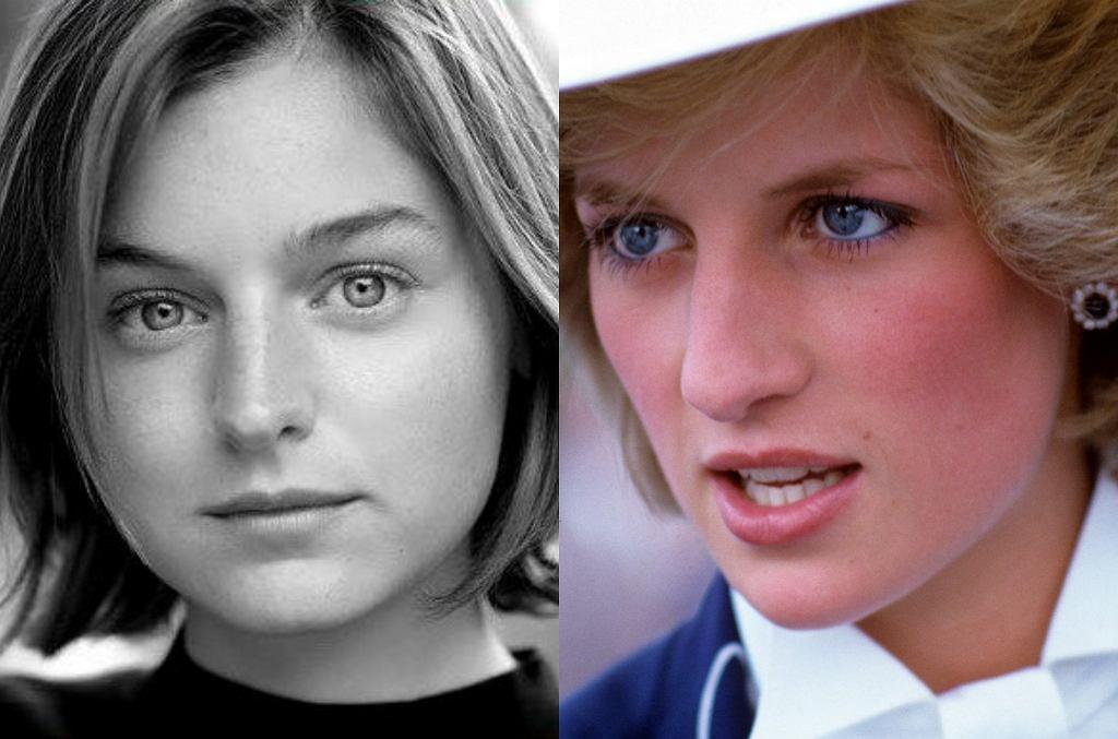 Emma Corrin, księżna Diana