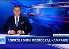 """Sztab Kidawy-Błońskiej składa skargę na """"Wiadomości"""" za 10-minutowy materiał o Andrzeju Dudzie"""