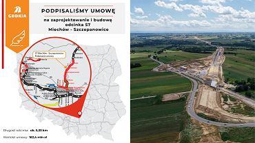 Trasa S7 Miechów - Szczepanowice