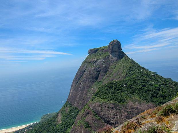 Pedra da Gavea w Rio de Janeiro