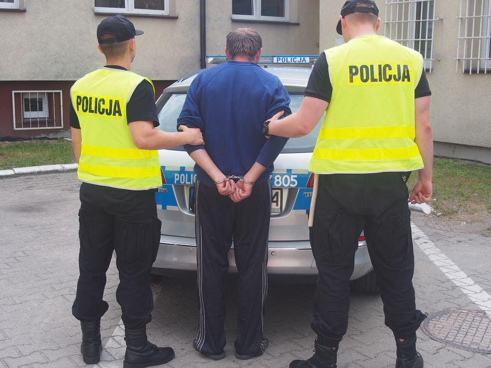 Obywatel Ukrainy zatrzymany przez policjantów z Legionowa