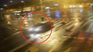 Policjanci zatrzymali mężczyznę, który potrącił pieszą w Legnicy
